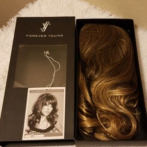 Forever Young Glow Girl Wig